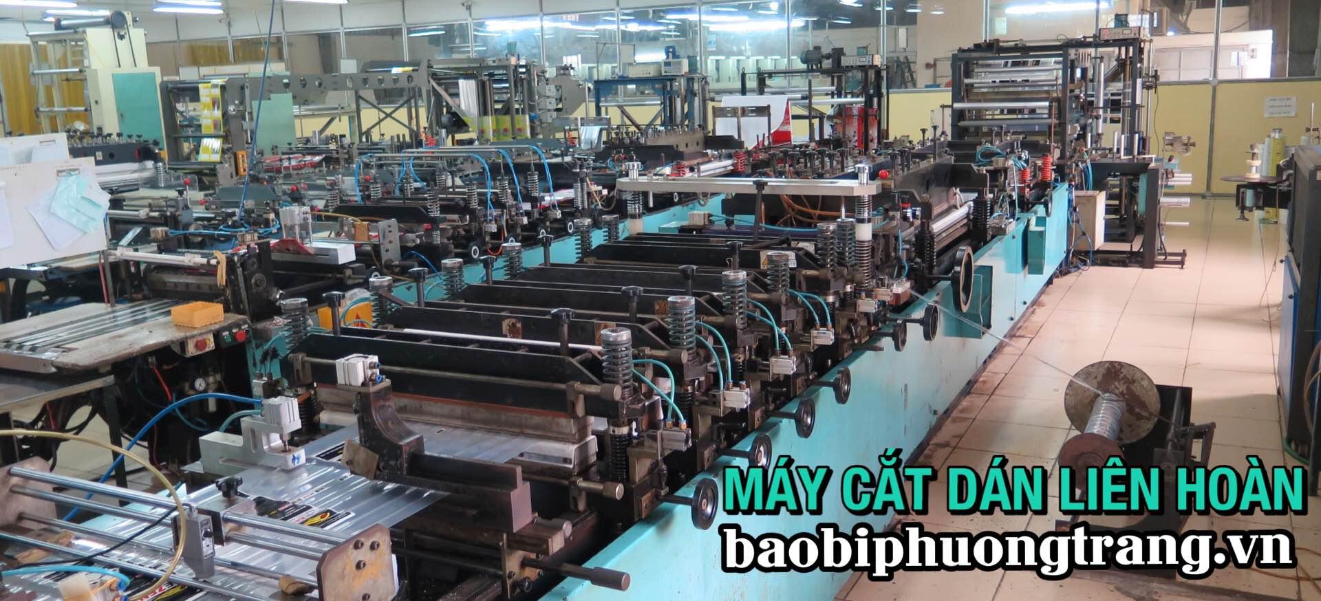Nhà máy sản xuất bao bì Phương Trang