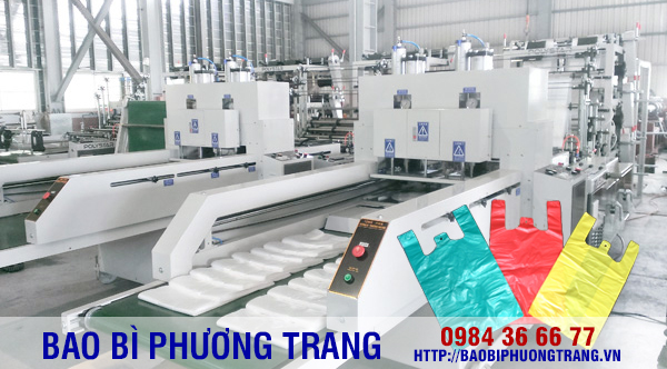 dây chuyền sản xuất túi nilon