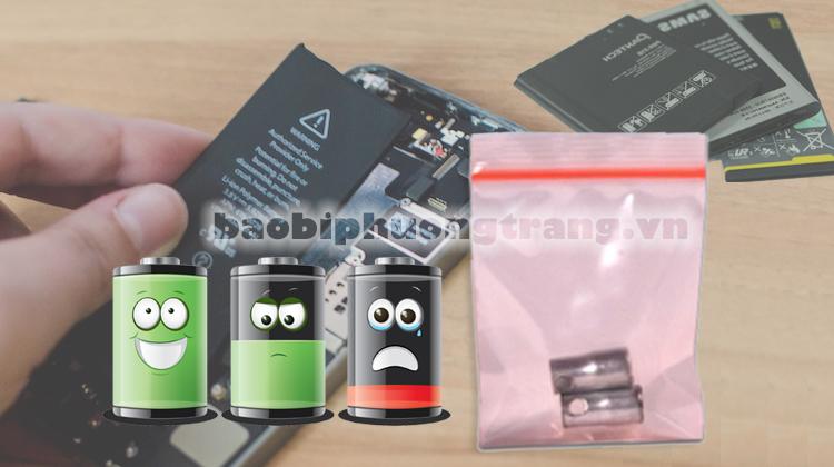 dùng túi nilon chữa chai pin laptop và điện thoại