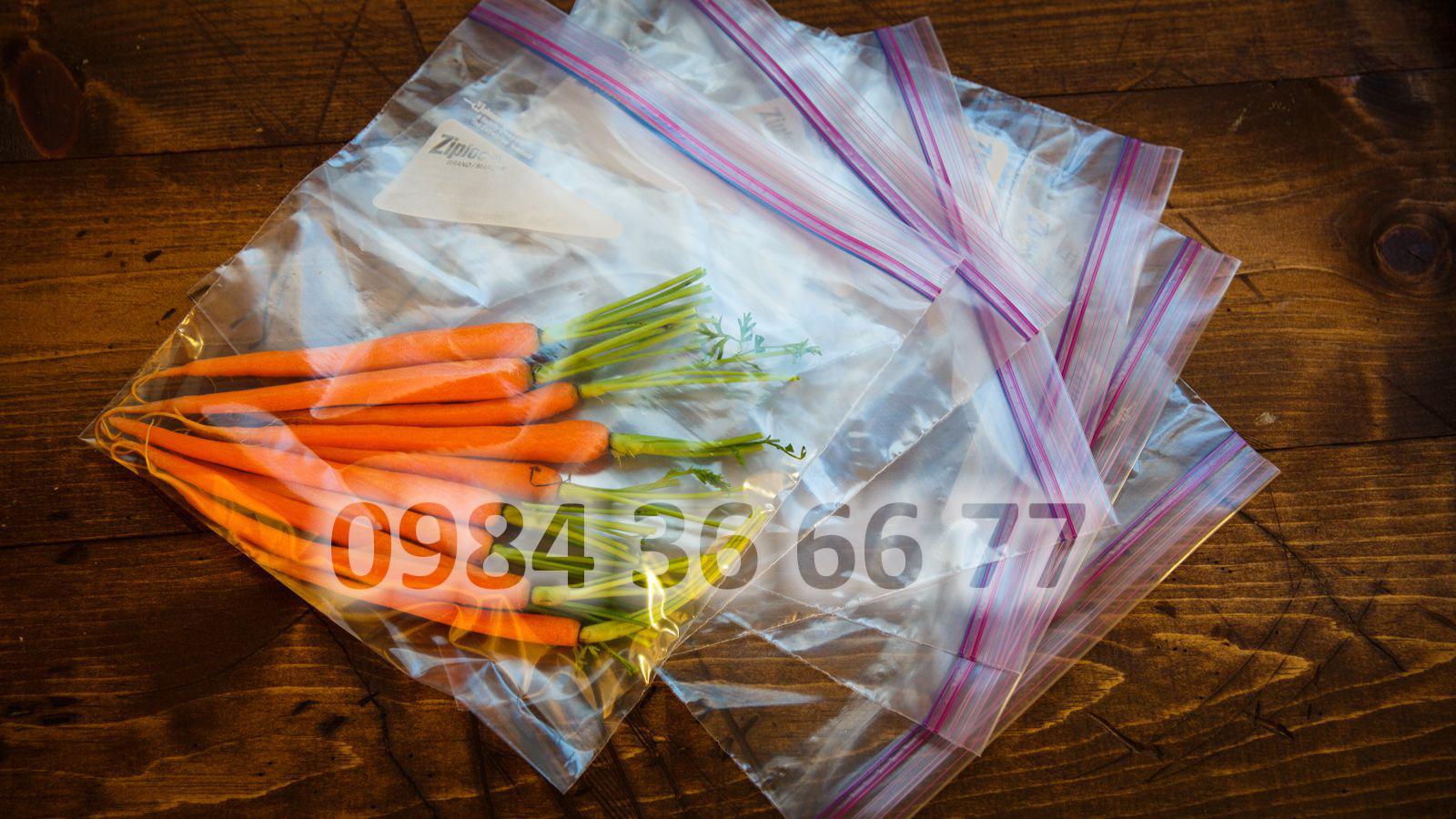 túi nilon đựng thực phẩm - bảo quản thức ăn tươi ngon