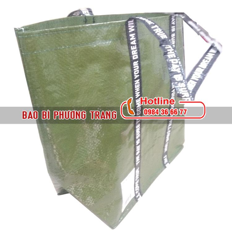 Túi PP dệt cán màng giá rẻ thân thiện môi trường