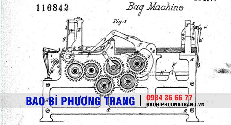 quy trình sản xuất túi giấy