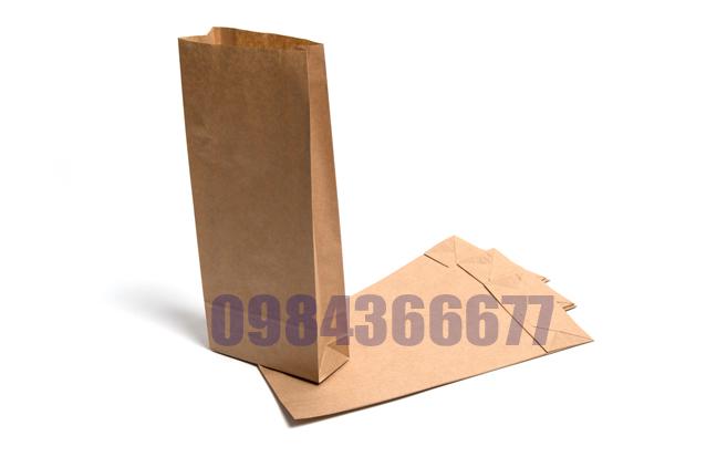 túi giấy đựng bánh mỳ dài