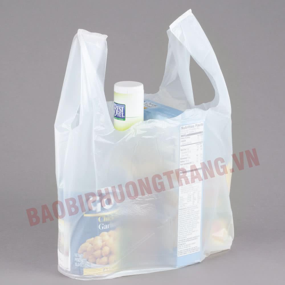 túi nilon đựng hàng siêu thị