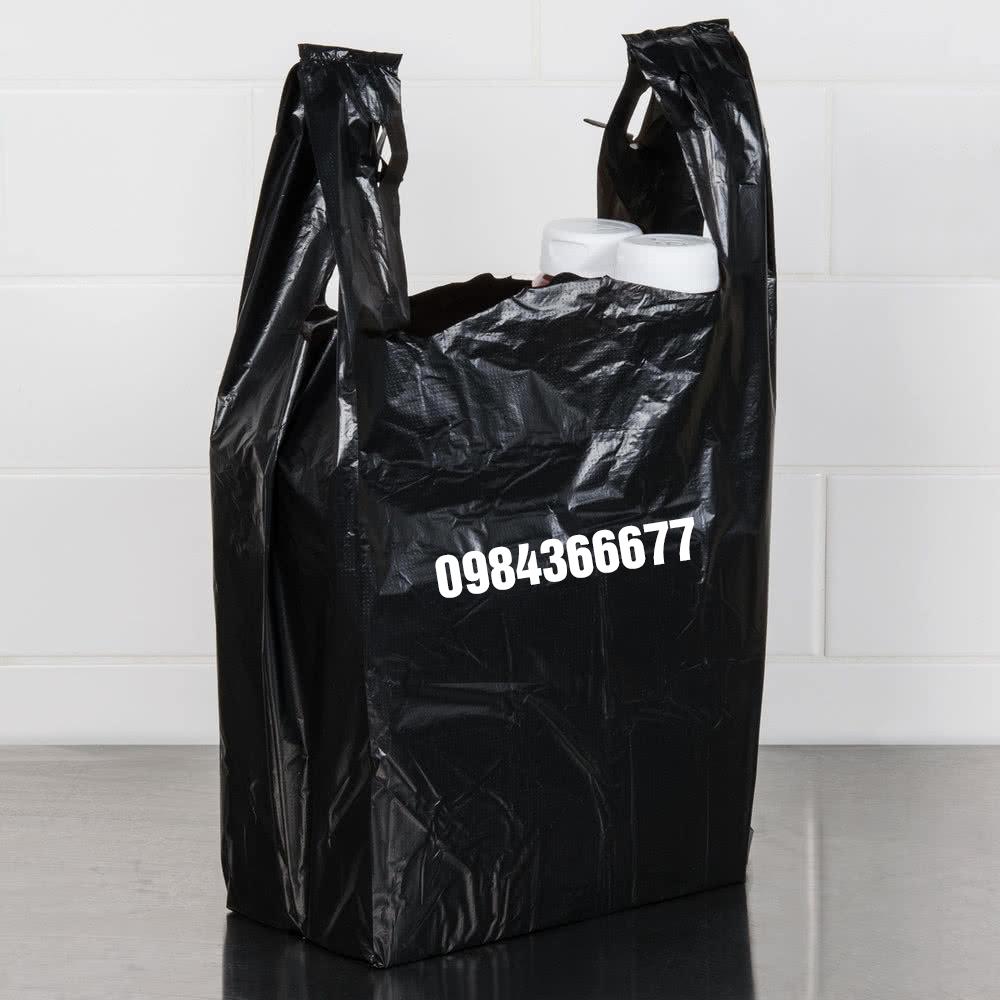 túi đựng rác có hai quai xách cho gia đình