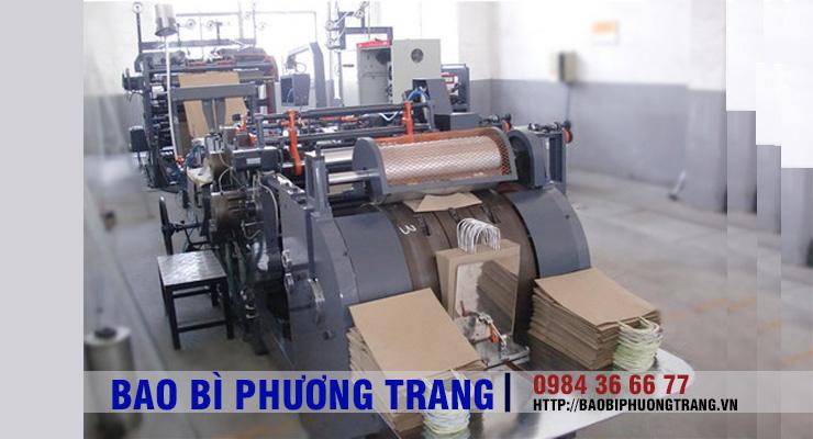 Quy trình in và sản xuất túi giấy