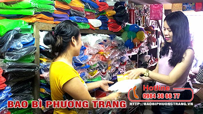 Biến động giá bán túi ni lông hàng chợ