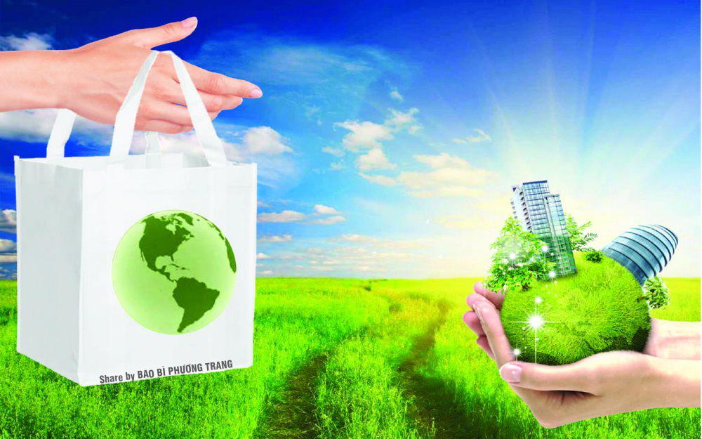 Khuyến khích loại túi thân thiện môi trường và các sản phẩm thiên nhiên