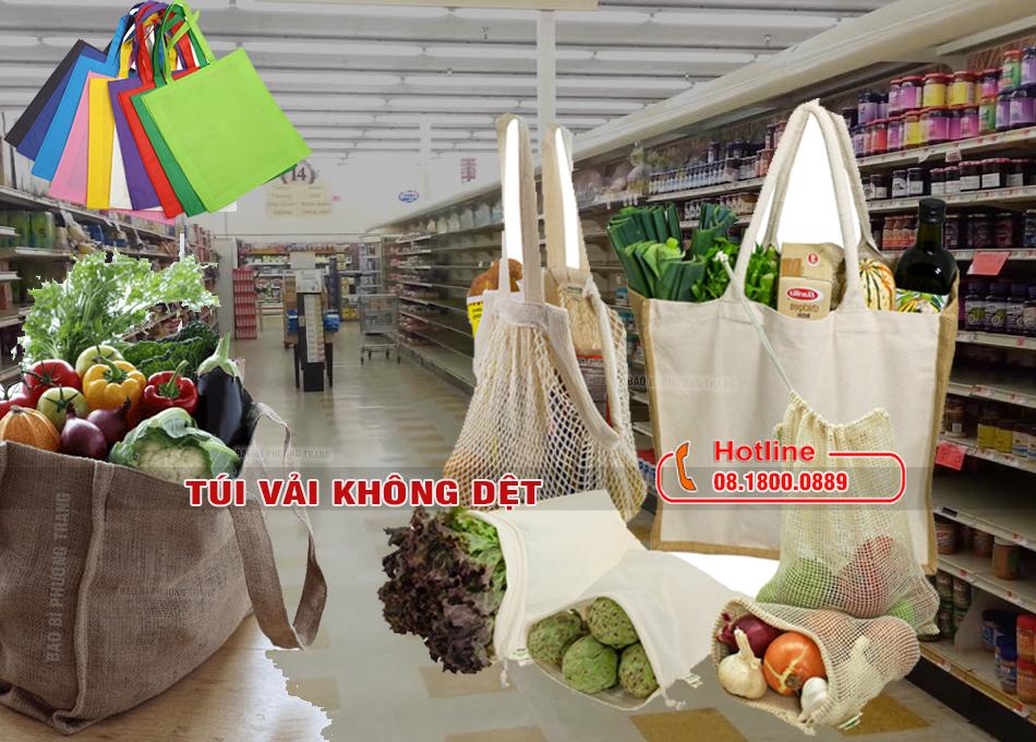 3 loại túi đựng hàng chợ thân thiện môi trường
